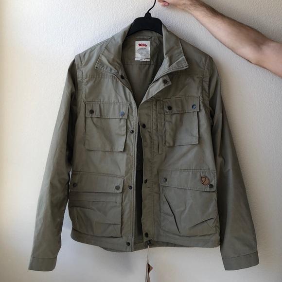 best loved 6dd8b c142e Fjallraven Men's Reporter Lite Jacket in Khaki NWT
